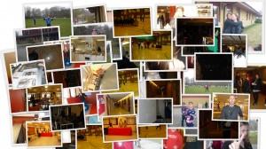 Det var full aktivitet bland föräldrar, elever, blivande elever och personal!